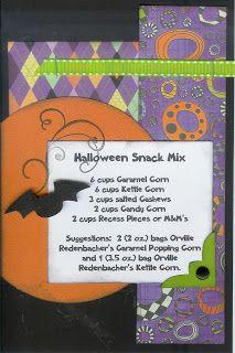 Halloween Snack Mix{Paper Cottage}