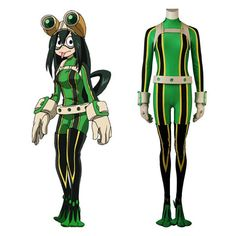 Anime my hero academia cosplay asui tsuyu costume for adult halloween custom made Epic Cosplay, Cosplay Dress, Cosplay Outfits, Anime Outfits, Cosplay Wigs, Tsuyu Asui, My Hero Academia Costume, My Hero Academia Bakugou, Hero Costumes