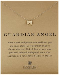 Dogeared Reminders Guardian Angel Wing Charm Necklace, 18' * You can get more details by clicking on the image.