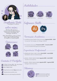 Web Design, Graphic Design Resume, Creative Resume Design, Creative Cv Template, Portfolio Resume, Portfolio Book, Portfolio Design, Art Resume, Resume Cv
