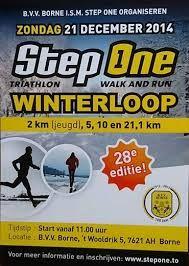 De halve marathon tijdens de 28ste editie van de Winter Step One Loop is zondag gewonnen door de 26-jarige Marokkaan Radouane Nour.