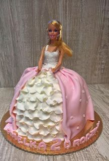 Torty ciasta i ciasteczka Joli: Lalka Amelki