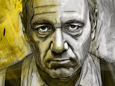Frank Underwood (House of Cards) - by Dustin Parker (on dribbble)