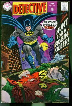 Batman - Robin - Corpse - Moon - Bricks - Carmine Infantino