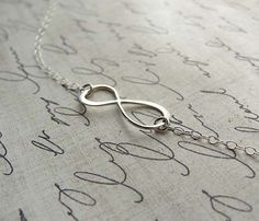 Sterling Silver Infinity Bracelet Uncovet.  What a beautiful gift for a bride on a wedding day!