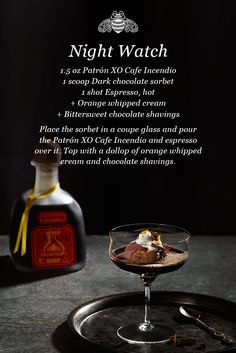 When things go bump in the night, this cocktail will help you face them.