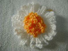 flor simples de croche