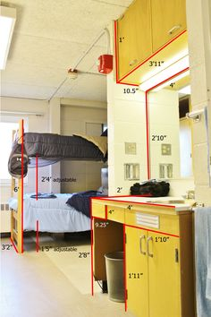 Wallace Residence Center- Room Dimensions