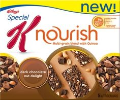 Kellogg's® Special K Nourish™ Bar Dark Chocolate Nut Delight  Perfect Pre-workout snack #gotitfree @Krystle Park Fleming K @KD Eustaquio McBride Rogers