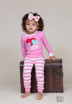 67d5489617 Premium Valentine s Day pajamas Embroidered names are not offered after Jan  25. Vinyl names will