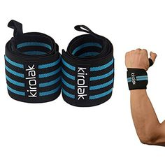 KIROLAK Wrist Wraps Weight Lifting Gym Fitness Bodybuilding Elastic Support Braces Wraps Belt Training Wrist Support Loop Wraps for Men and Women -- Be sure to check out this awesome product. (This is an affiliate link and I receive a commission for the sales) #SportsMedicine