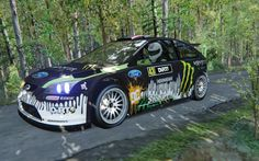 Assetto Corsa - Ford Focus RS 2010 WRC at Peklo
