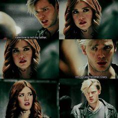 "#Shadowhunters 2x11 ""Mea Maxima Culpa"" - Jace and Clary"