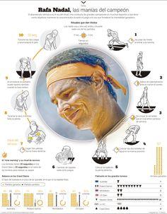 Rafa Nadal, the champion's routines