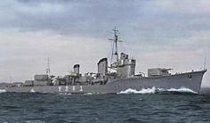 IJN Destroyer Yukikaze 日本海軍駆逐艦-雪風 (Color) #4B