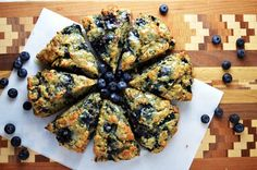 Whole Wheat Blueberry Scones @AnotherRoot