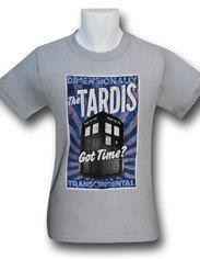 Doctor Who TARDIS Poster T-Shirt