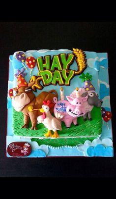 Hay day taart