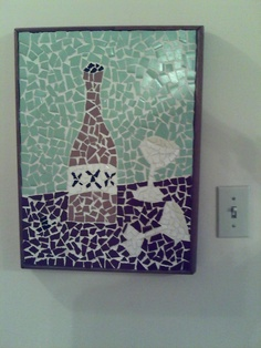 mosaics done by my grandpa Pozza