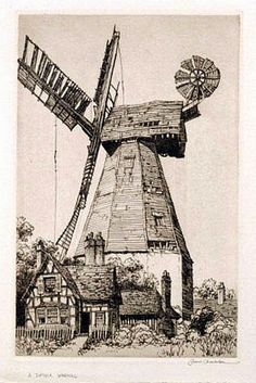 A+Suffolk+Windmill+-+1939.jpg (1069×1600)