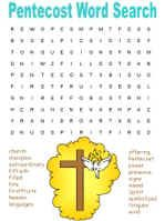 Kids Activity Sheet Holy Spirit Pentecost Games And Puzzles Gnc