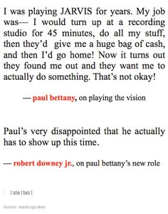 Paul Bettany: Age of Lazyness
