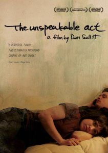 The Unspeakable Act: Dan Sallitt's third feature film delves into the subject of incest, a topic that remains taboo even in the indie film industry where few issues are off-limits. Although An Unspeakable Act suffers from some heavy-handed narration (often telling more when it should show), it tells the fascinating story of Jackie (played by Tallie Medel), a young woman in love with her brother Matthew (Sky Hirschkron).