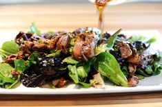 Ginger Steak Salad - This is are absolute favorite meal.  I always pull this one out when we have guests over for dinner