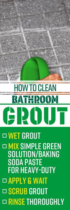 Restoring dingy tile grout to like-new brightness doesn't require harsh chemicals like bleach, ammonia or vinegar, which can damage your grout and actually create more problems than they solve.