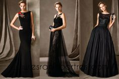 Pronovias Fiesta 2017 Cocktail & Ceremony Collection - Designer Evening Dress, Formal Gown, Ready to Wear, Long Dress Mermaid Evening Dresses, Evening Gowns, Elegant Woman, Gala Dresses, Formal Dresses, Black Wedding Dresses, Mode Style, Tulle Dress, Special Occasion Dresses