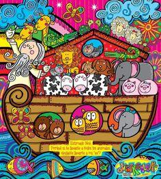 En el Arca de Noé muchos caben y yo también....