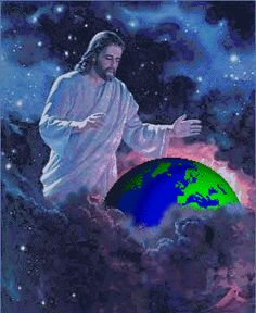 Jesus Christ will destroy Satan the Devil in the name of Jehova God. He was challenged and blamed by Satan. Jesus is King of Kings and Lord of Lords. Jesus is Lord. Come Lord Jesus Amen. Pictures Of Jesus Christ, Religious Pictures, Christian Pictures, Jesus Christus, Jesus Art, Prophetic Art, Beautiful Gif, Light Of The World, Christian Art