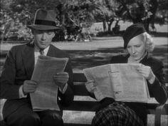 Jean Arthur invitees Herbert Marshall home with her.  What?  #jean arthur #herbert marshall #movie reviews