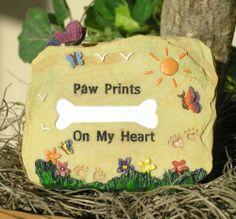 Dog Memorial Message Rock Paw Prints on My Heart Banberry Designs,http://www.amazon.com/dp/B00FFAXG0G/ref=cm_sw_r_pi_dp_LuX6sb1PHX46XJXE