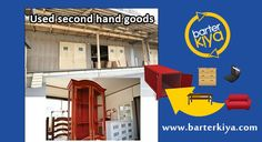 Exchange your unwanted Used goods in India's No.1 Bartering site - www.barterkiya.com. It is absolutely FREE! FREE!! FREE!!!
