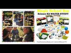 Magic School Bus Science Kit WATERSTUDY! Join our homeschool family as we have fun doing homeschool science with the Magic School Bus WATER science kit! We tackle hands-on science projects and enjoy...
