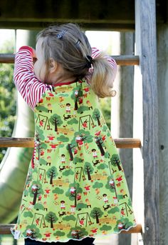 theblogbook | sewing | dress, lillestoff, enemenemeins, minikrea