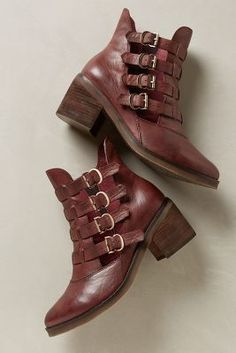 Latigo Mila Booties #anthrofave #anthropologie