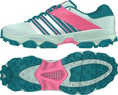 Look cool on the field and get the best performance with these Adidas Adistar Field Hockey Turf Shoes!