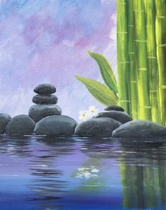 Paint Nite - Tranquility V