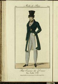 Petit Courrier des Dames : annonces des modes, des nouveautés et des arts del 25 de Noviembre de 1822