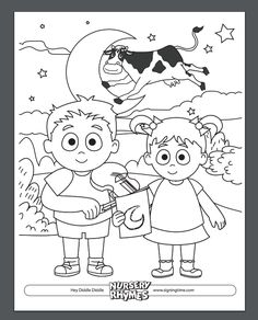new signing time nursery rhymes coming soon download this free coloring page and pre toddler developmenthey diddle
