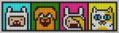 Adventure Time perler bead pattern
