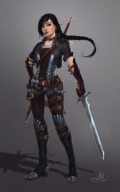 Fighter rogue adventurer