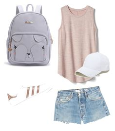 """""""Untitled #70"""" by mikai-toot on Polyvore featuring RE/DONE, Gap, adidas Originals and Sole Society"""