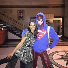 Grant Gustin & Candice Patton