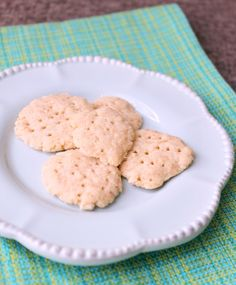 Easy Shortbread Biscuits. Great to make with kids.