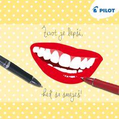 Úloha dňa je jasná :) usmievať sa! Oslavujeme deň úsmevu 5.10 #smile #internationalday #happy #pilotpensk Swiss Army Knife, Pilot, Den, Swiss Army Pocket Knife, Pilots