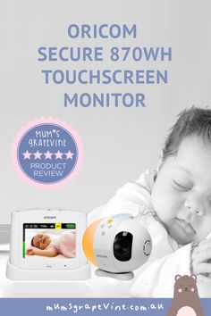 Oricom Secure870WH Baby Monitor Review #bestbabymonitor #bestbabyproducts #videobabymonitors #babymonitors Starry Night Light, Gentle Baby, First Time Parents, Baby Bunting, New Mums, Baby Monitor, Number Two, Prams, Sweet Words