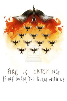 If we burn, you burn with us by ~Fruube on deviantART